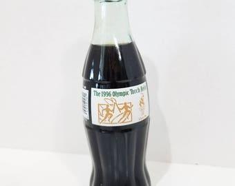 Coca-Cola bottle, 1996 Olympic Torch Relay, Atlanta, 1996