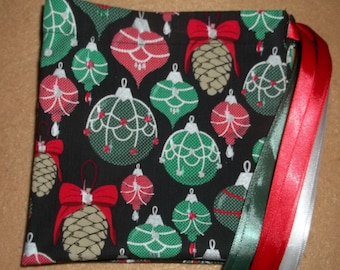 Pine cone ornaments  drawstring gift/treat/goody/storage bags