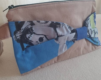 The Doctors Print Zipper Doctor Who Boxy Makeup Bag Pencil Pouch