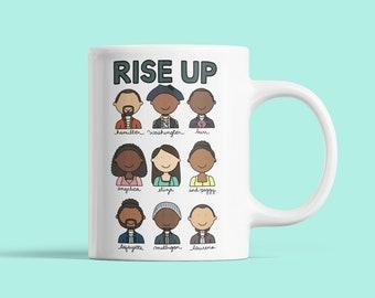 Hamilton Rise Up Mug