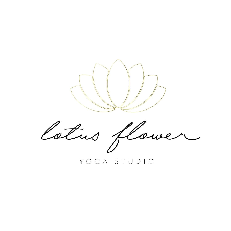 Logo design lotus flower logo boho logo gold logo simple etsy zoom izmirmasajfo