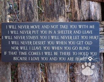 I Will Never ,Word Art, Primitive Wood Wall Sign, Typography, SubwayArt, Handmade