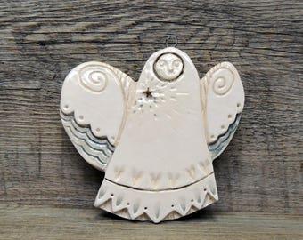 Angel ornement ceramic