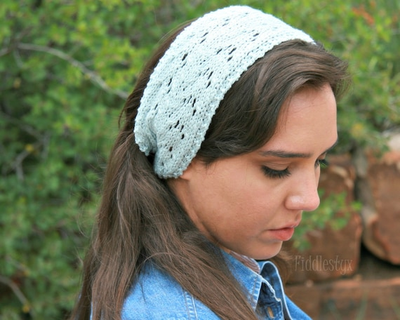 Knitting Pattern Lace Headband Pattern The Jayne Headband Etsy
