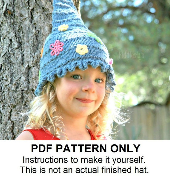 10fc95328ad ... promo code for hat knitting pattern pixie hat pattern the janis hat etsy  ad526 606ad