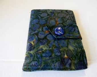 Blue Olives Batik Kindle Touch/ Kindle/ Nook Simple Touch/Paperwhite  Cover