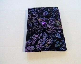 Purple Leaf Batik Kindle Fire/Keyboard Cover/Samsung Galaxy Tab A