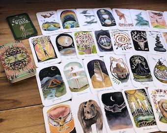 Roots & Wings Oracle Deck 63 cards by Kat Ryalls | oracle card deck