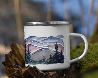 Blue Ridge Mountains Enamel Mug