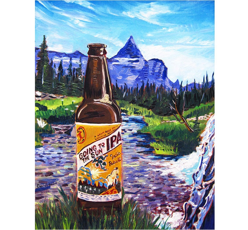 Going to the Sun IPA Great Northern Brewing Glacier National image 0
