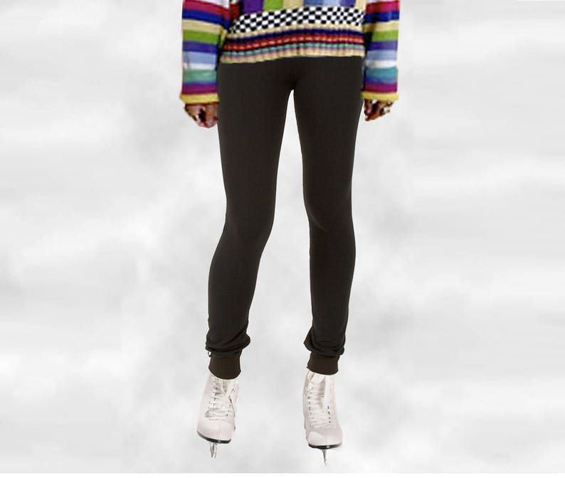 Women Winter Thermal Thick Warm Fleece lined Skinny Slim Legging Stretch Pant IL