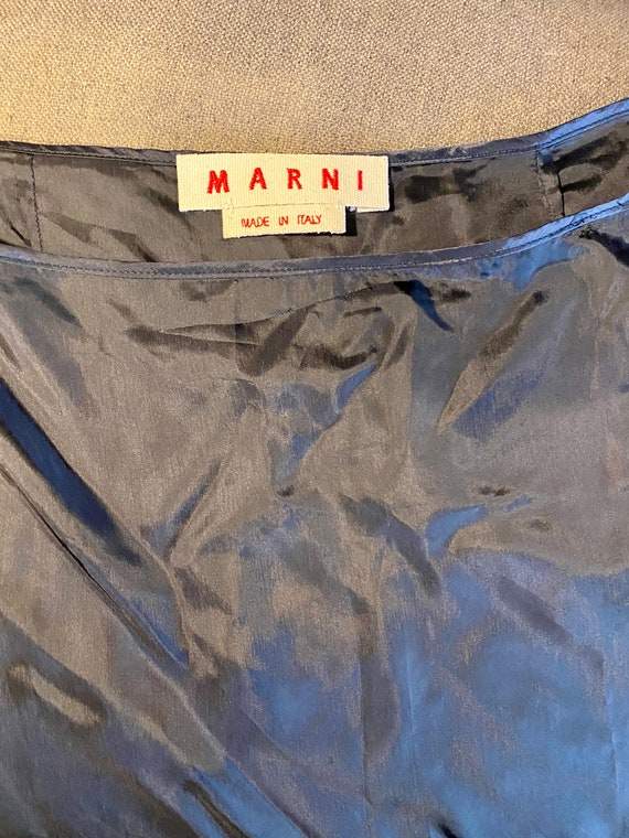 Marni Slip Skirt Black 42