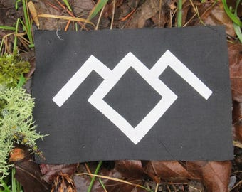 OWL CAVE - Twin Peaks Patch, Black Lodge, Laura Palmer, Occult patch, punk patches, mystery, tv, pop culture, Dale Cooper, Coop, David Lynch