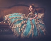 Story Of A Girl A Stunning Vintage Flower Girl Special Occasion Gown