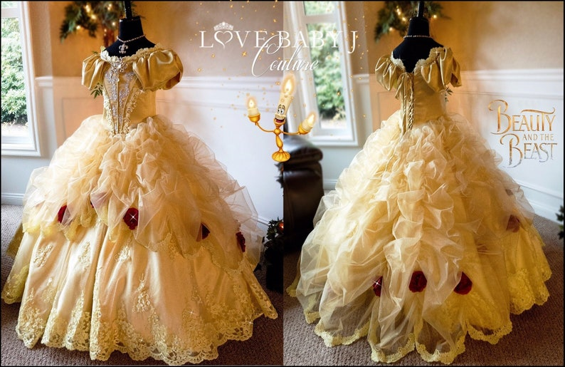 edba2f74fba Belle... A Luxurious Beauty And The Beast Inspired Ball Gown.