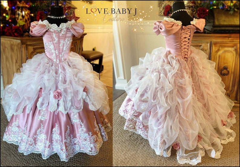 3ae1df3e8aae Ballroom Dreams... A Stunning Girls Ballgown/Princess | Etsy