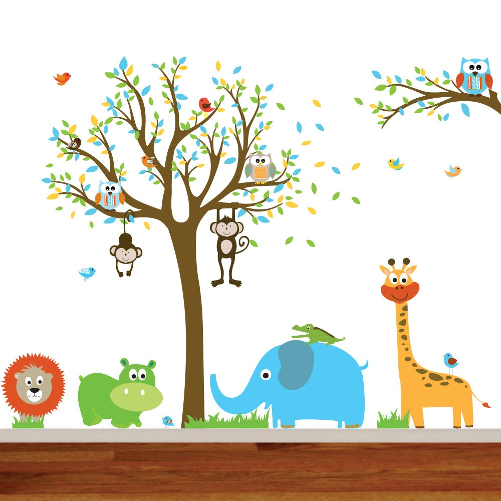 Kids Wall Decals Nursery Wall Decals Baby Wall Decals Wall Etsy