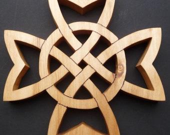Celtic cross trivet