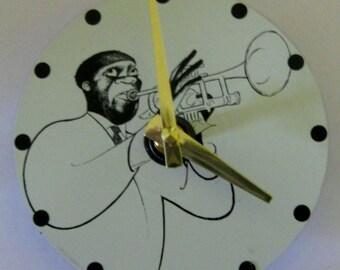 Trumpet clock | Etsy