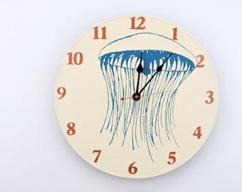 Jellyfish Ocean clock Vinyl Record