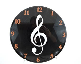 Clef Note Wall Clock