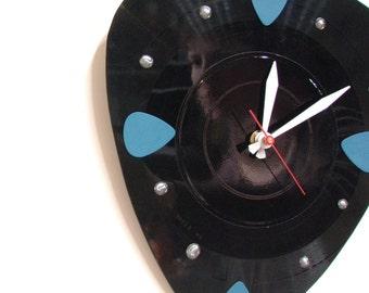 Guitar Clock Decor Music - Pick Wall Clock
