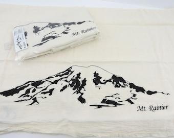 Mt. Rainier Tea Towel