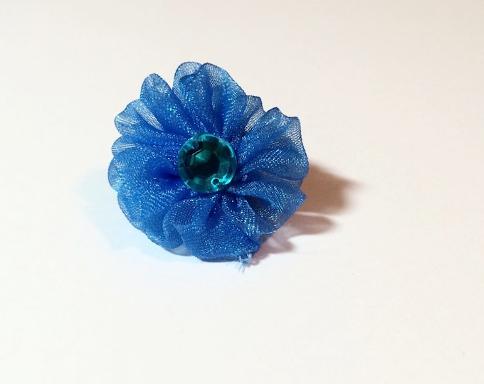 Collar Flower, Small Posh Collar Flower for Cats, Small Dog Breeds, Ferrets