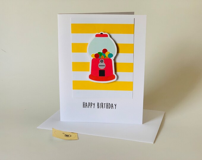 Funny birthday card, hope its as great as when you were a little kid,  made on recycled paper, comes with envelope and seal