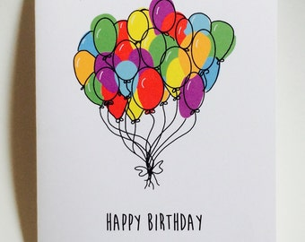 Happy Birthday, Hope your birthday is as great as when you were a little kid, funny birthday card, made on recycled paper, doodle