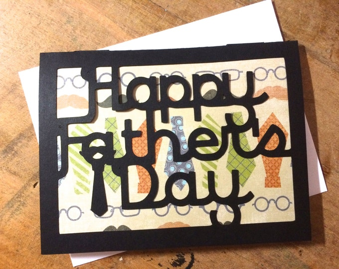 Funny Fathers Day Card, also good Fathers Day Card for Step Dads, Step Dad, inappropriate fathers day comes with envelope and seal