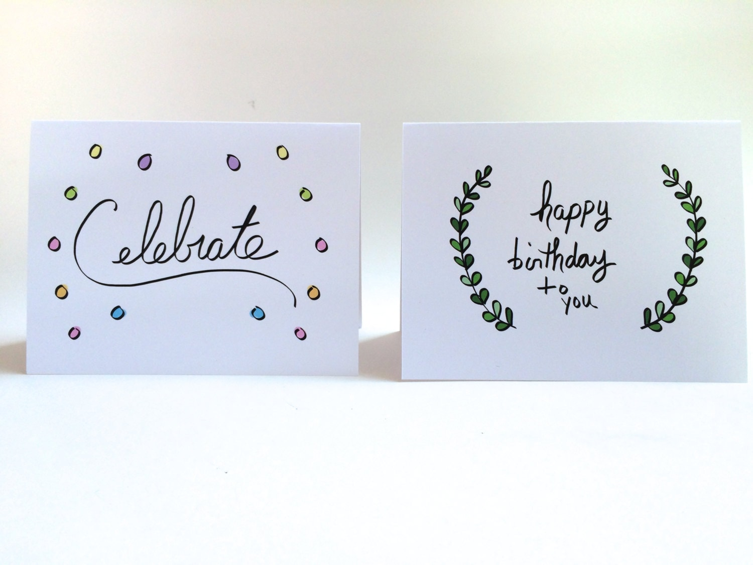 Birthday Card Set Pack Of Cards Doodle 4