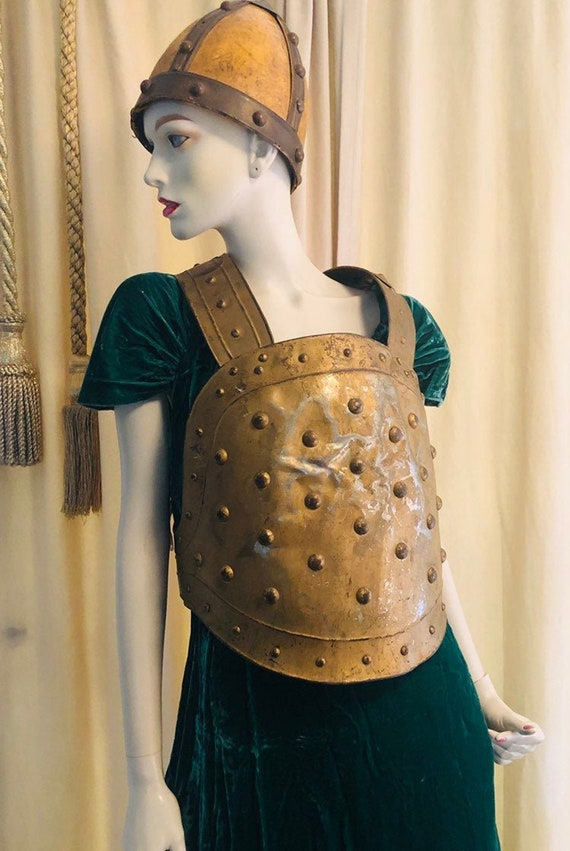 ANTIQUE GLADIATOR ARMOR, Joan of Ark, Medieval Fai