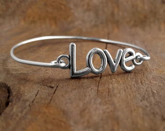 Bracelets, Bracelet, Gift For A Cause, Love, Bangle, Bangles, Affordable Jewelry, I Love You, Custom Jewelry, Gypsy Jewelry, Bohemian Gift