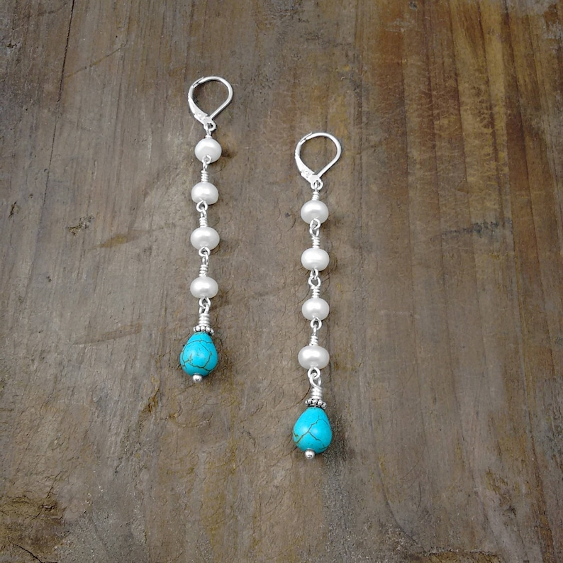 EXTRA LONG EARRINGS  Swing Earrings Gifts for Women Popular image 0