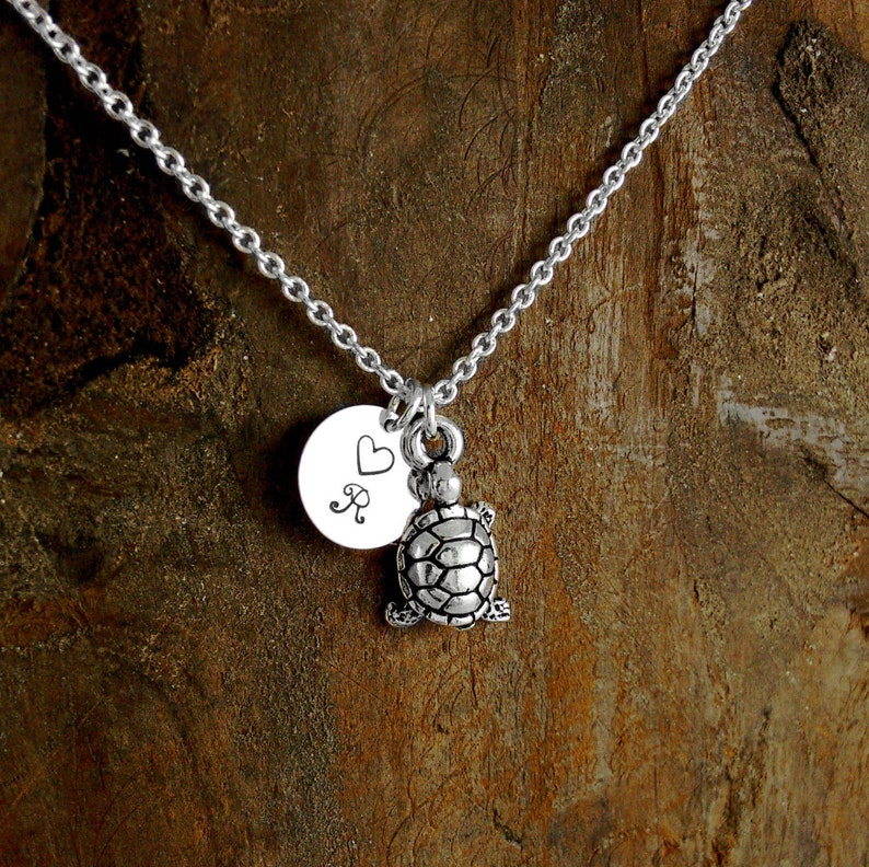 TURTLE LOVER Personalized Jewelry Nickel Free Beach Lover image 0