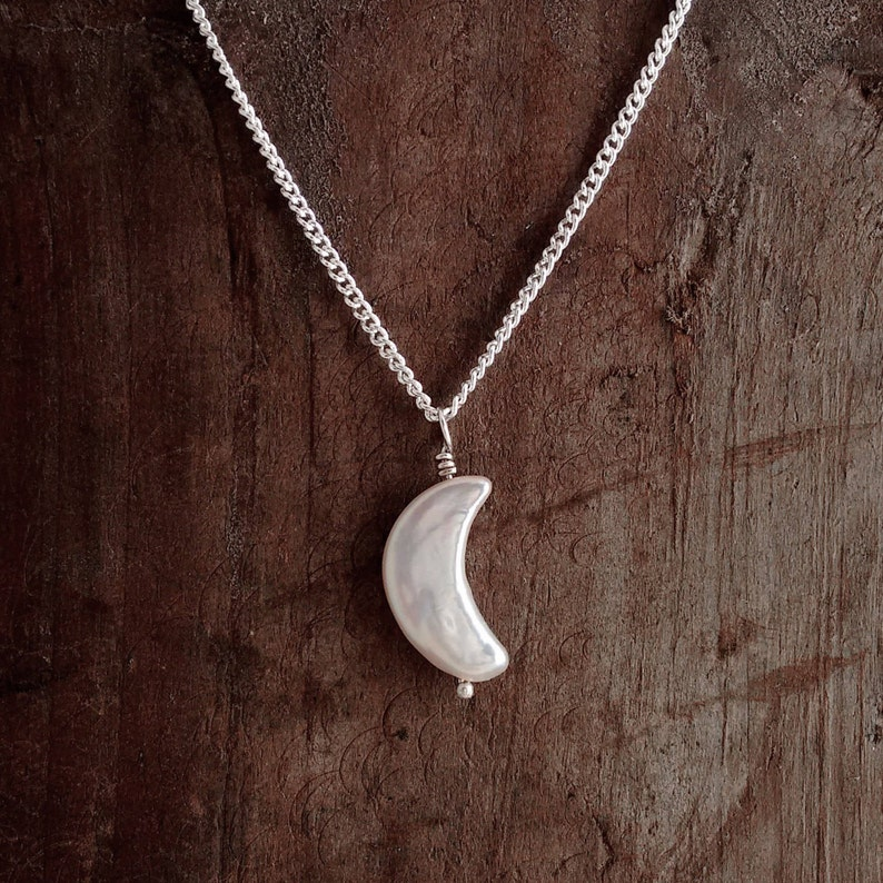 MOON NECKLACE I love you to the moonChoice of image 0