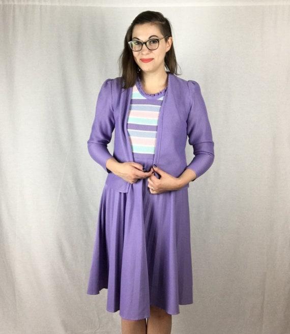 Vintage Pastel 1970s Franco Verdi Dress Suit - image 2