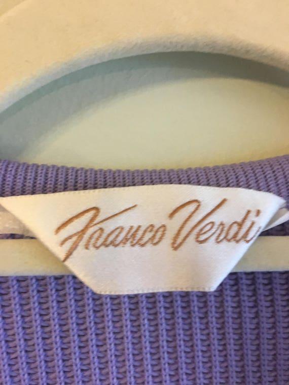 Vintage Pastel 1970s Franco Verdi Dress Suit - image 9