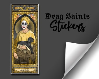Drag Saints Sticker (Series 5) - Joe Black