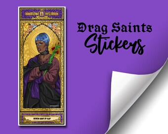 Drag Saints Sticker (Series 4) - Shae Coulee