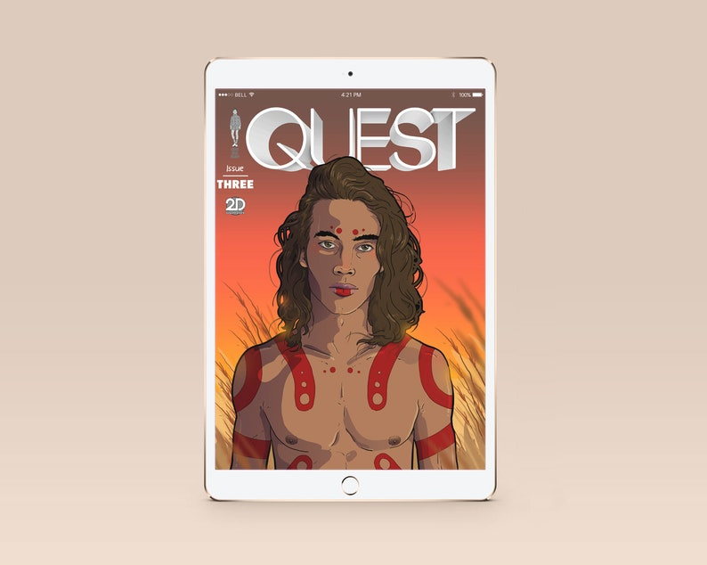 QUEST ISSUE 3 Digital Comicbook image 0