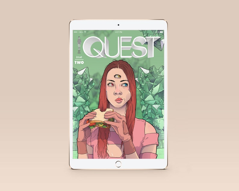 QUEST ISSUE 2 Digital Comicbook image 0