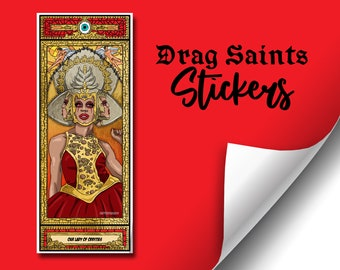 Drag Saints Sticker (Series 4) - Eyvie Oddly