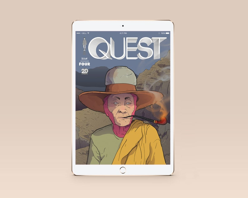 QUEST ISSUE 4 Digital Comicbook image 0