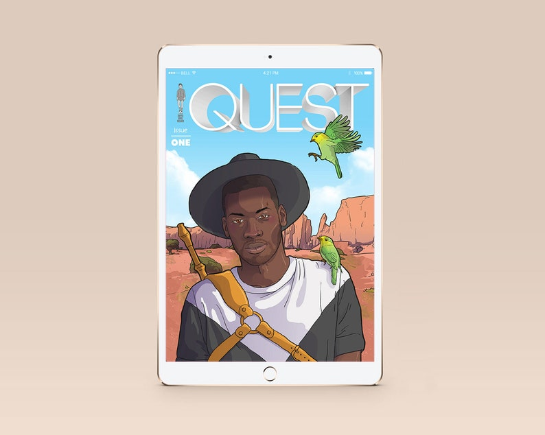QUEST ISSUE 1 Digital Comicbook image 0