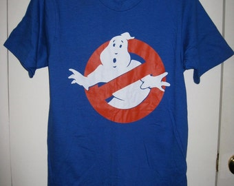 Vintage 1980's Ghost Busters Movie T-shirt size Small