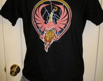 Vintage 1980 Rossington Collins 80s Rock Band Pheonix T-shirt size Medium