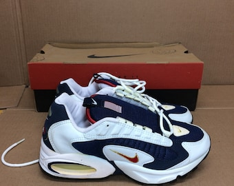 deadstock Nike Air Max Triax 96 USA Olympics running shoes size 7 red white blue gold swoosh trainers kicks sneakers 1990s NIB new in box