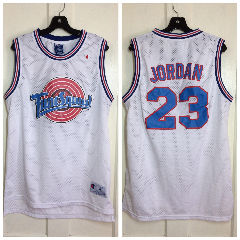 reputable site b2c30 ab89f 1990's Michael Jordan 23 Champion brand Basketball jersey ...